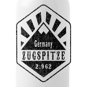 Zugspitze Germany - Used Look - Water Bottle