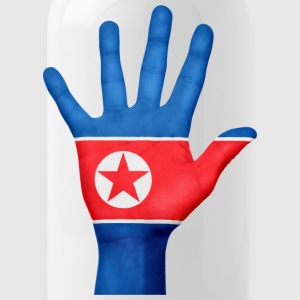 NORTH KOREA / NORDKOREA HAND - Water Bottle