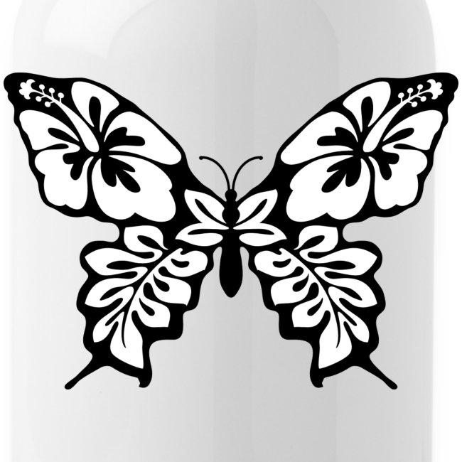Anjas Shop | Schmetterling Zum Ausmalen - Trinkflasche