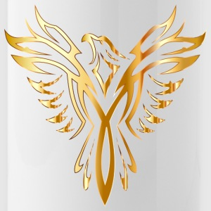 Like Phoenix from the ashes gold golden fenix - Water Bottle