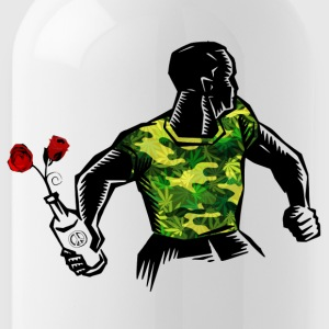 Molotov and Roses Peace LOVE MOLOTOV - Trinkflasche