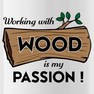 Passion Art Wood - Vattenflaska