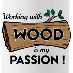 Passion-Design Wood - Trinkflasche