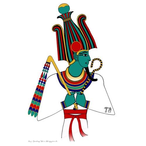 POSTER: Osiris, altägyptische Gottheit - Trinkflasche