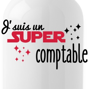 I'm a super accountant - Water Bottle