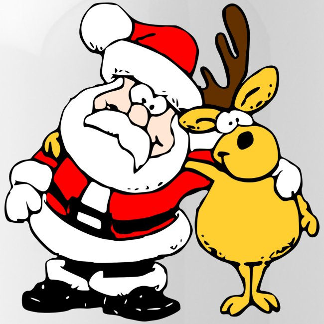 Rentier Weihnachtsmann