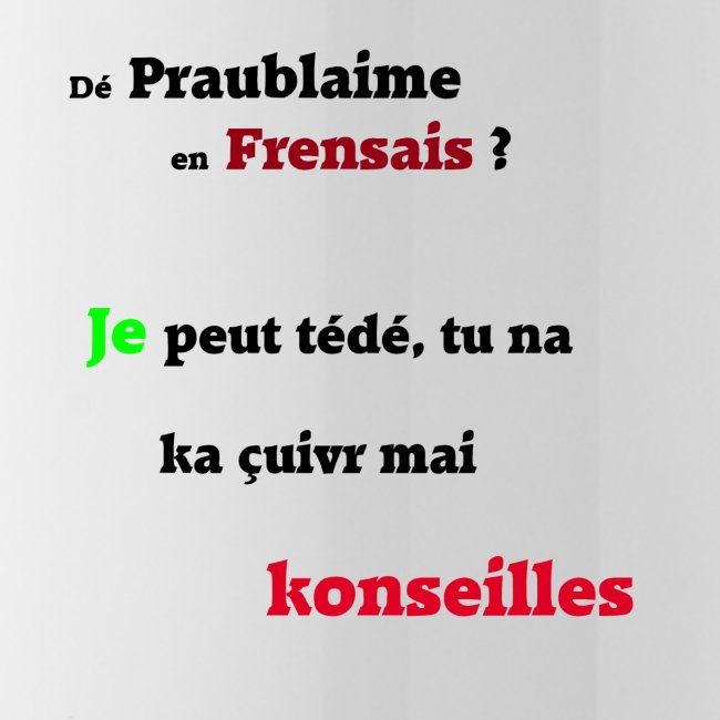 Probleme en français