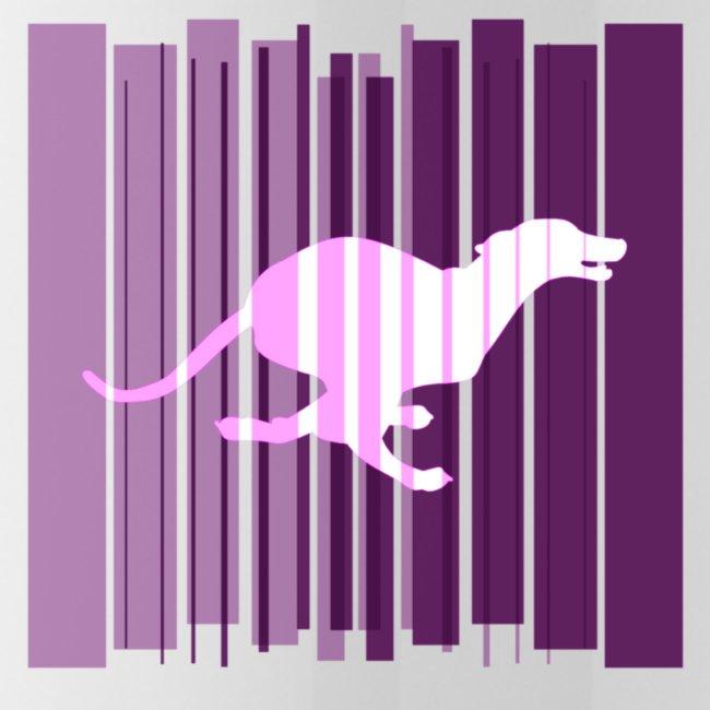 Sighthound In Purple Women's T