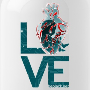 Techeart_LOVE - Water Bottle