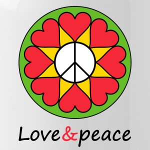 Love & Peace Mandala - Gourde
