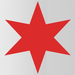 Red Chicago Star - Water Bottle
