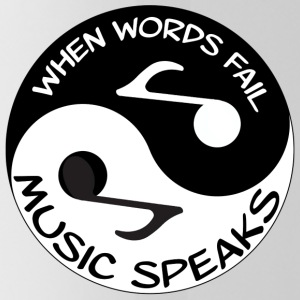 Music Speaks - Water Bottle