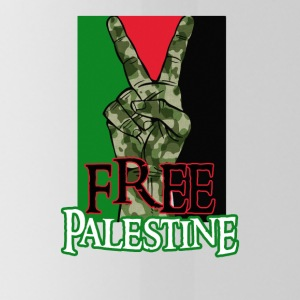 Free Palestine - Peace - Save Gaza T-Shirt - Water Bottle