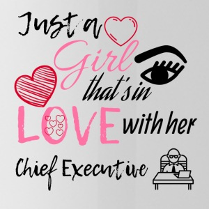 A girl that's in love with her Chief Executive - Trinkflasche