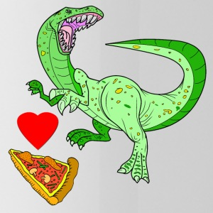 Vector Love Pizza - Cantimplora