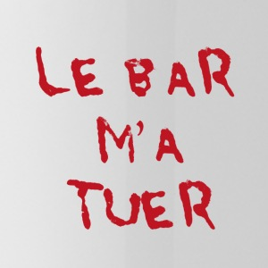 La barra Killed Me - Borraccia