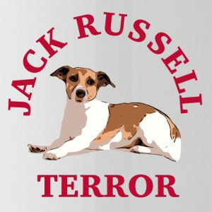 Jack Russell terror3 red - Trinkflasche