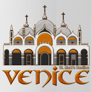 Venice basilica - Water Bottle