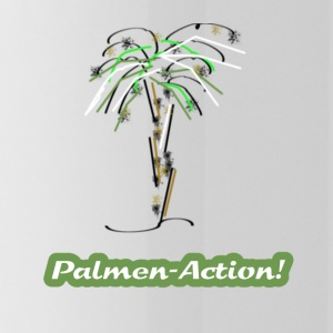 Palm tree - Water Bottle