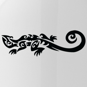Lagarto tribal fresco - Cantimplora