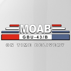 MOAB - Mutter Aller Bomben (Mother Of All Bombs) - Trinkflasche