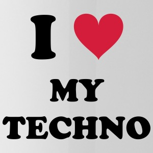 I LOVE MY TECHNO - Gourde