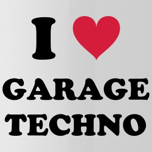 J'AIME GARAGE TECHNO - Gourde