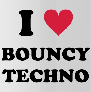 I Love Techno BOUNCY - Drinkfles