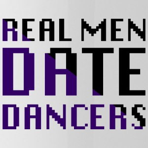 Real Men Date Dancers - Water Bottle