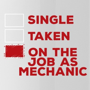 Mechanic: Single, Taken or on the job as mechani - Water Bottle