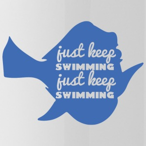 Swimming / Swimmer: Just Keep Swimming - Water Bottle