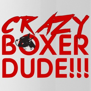 Dog / Boxer: Crazy Boxer Dude !!! - Water Bottle