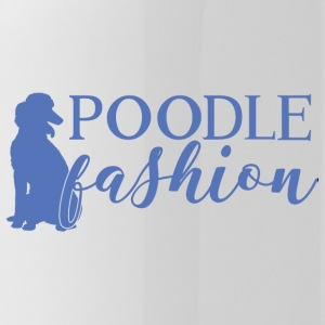 Hond / Poedel: Poodle Fashion - Drinkfles