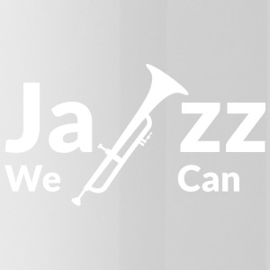 JAZZ WE CAN - wit - Drinkfles