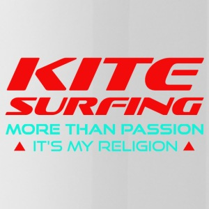 KITESURFING - MORE THAN PASSION - ITS MY RELIGION - Water Bottle