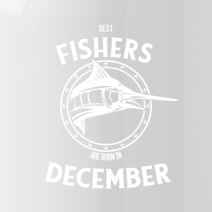 Present for fishers born in December - Water Bottle