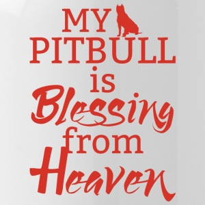 Hund / Pitpull: My Pitbull Is Blessing From Heaven - Trinkflasche