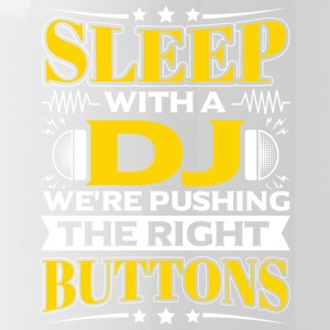 SLEEP WITH A DJ - PUSHING THE RIGHT BUTTONS - Water Bottle