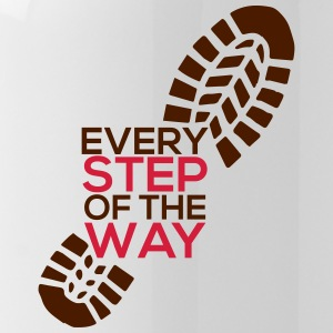 Every step of the way - Water Bottle