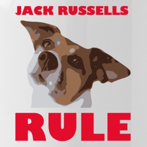 Jack russels rule2 red - Trinkflasche