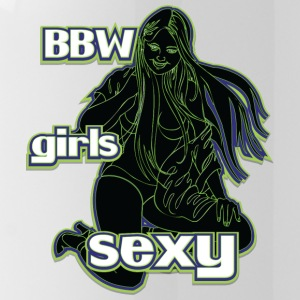 bbw girls sexy black green - Water Bottle