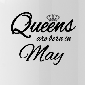 Queens Born May Princess Birthday Birthday May - Water Bottle