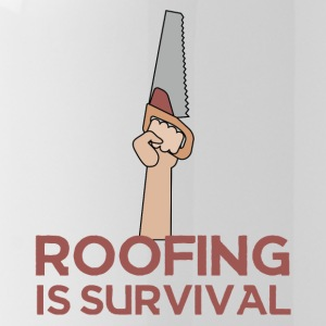 Roofing: Roofing Is Survival. - Water Bottle
