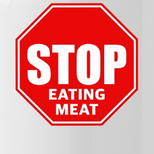 Stop eating meat - Water Bottle