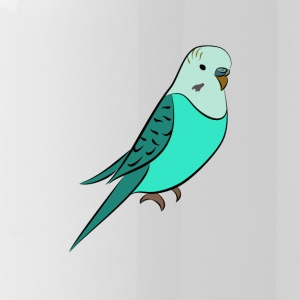 Budgie turquoise - Water Bottle