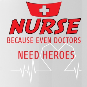 Krankenschwester: Nurse, because even doctors need - Trinkflasche