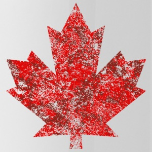 Kanada Maple Leaf Maple Leaf Grunge Amerika - Vattenflaska