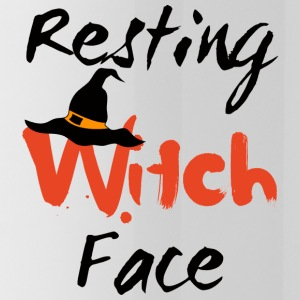 Halloween: Resting Witch Face - Water Bottle