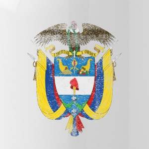 Colombia Coat of Arms Colombia Symbol - Drikkeflaske