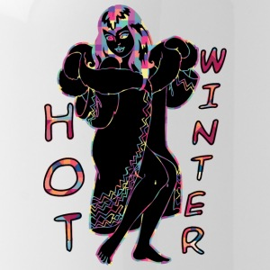 Hot Winter BLACK - Vattenflaska